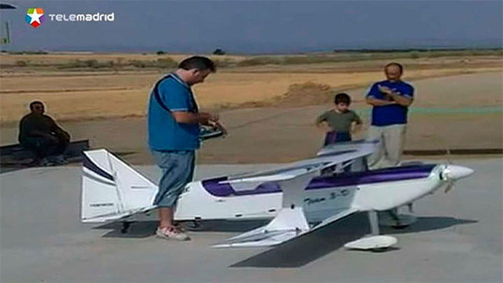 Brunete: Denuncian los vuelos de aviones radiocontrolados junto a su casa
