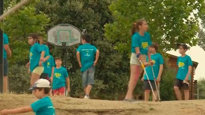 Campamento de verano en Brunete para niños con enfermedades reumáticas