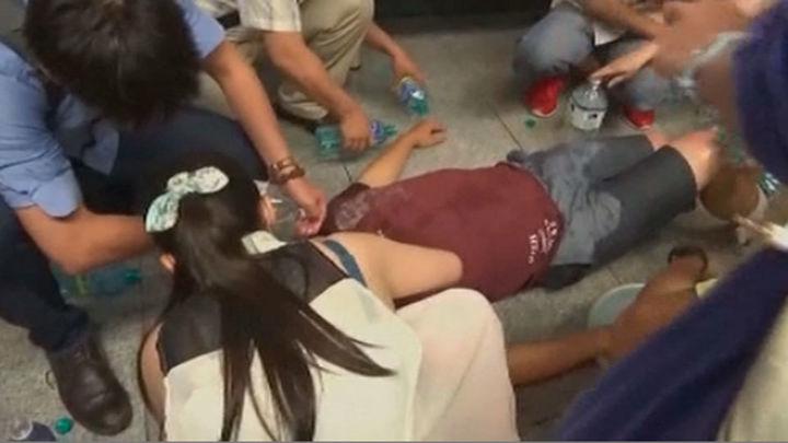 Una explosión en una estación de tren taiwanesa causa 25 heridos