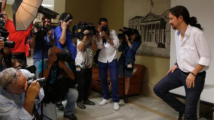 Pablo Iglesias dice que, si el PSOE quiere, puede haber un Gobierno diferente al PP