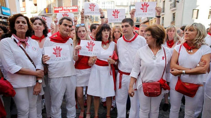 Intolerable agresión sexual a una joven madrileña en los San Fermines