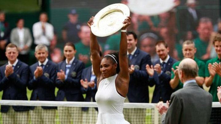 Serena Williams gana su séptimo Wimbledon