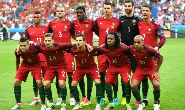 El 'once' de Portugal