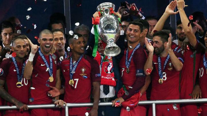 0-1. Portugal se corona en Europa
