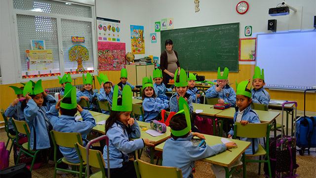 Colegios madrileños