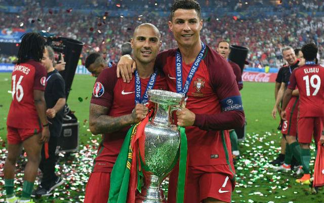 Quaresma y Cristiano Ronaldo