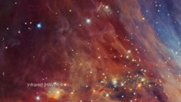 Descubren un 'enjambre' de objetos de baja masa en la nebulosa de Orión