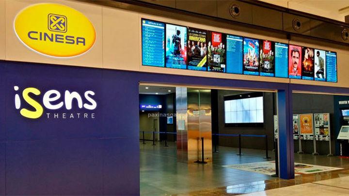 Trece salas de cine del grupo Cinesa cierran sus puertas temporalmente en Madrid