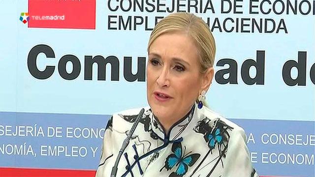 La presidenta de Madrid, Cristina Cifuentes