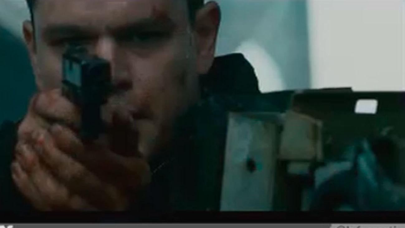 Vuelve 'Jason Bourne' a ritmo trepidante