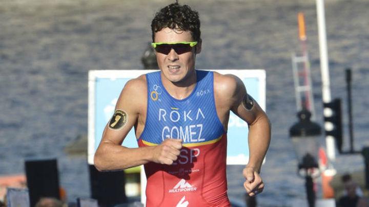 Gómez Noya se rompe el brazo y no estará en Río