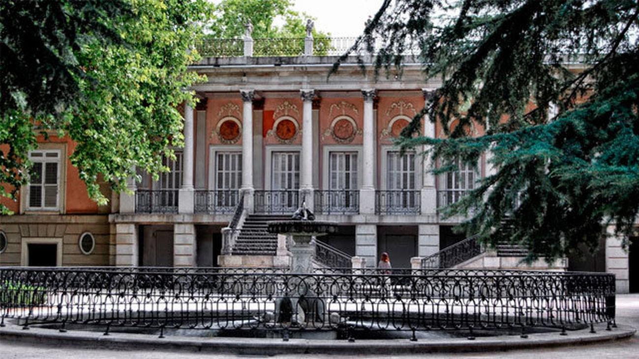 Palacio en el parque El Capricho