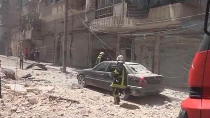 Bombardeos suspendidos desde el atardecer en Alepo donde Al Asad augura una victoria
