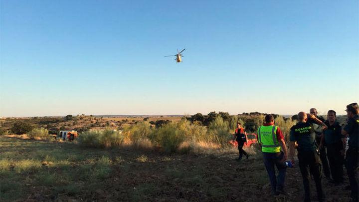 Doce heridos leves en un aterrizaje de emergencia de un helicóptero