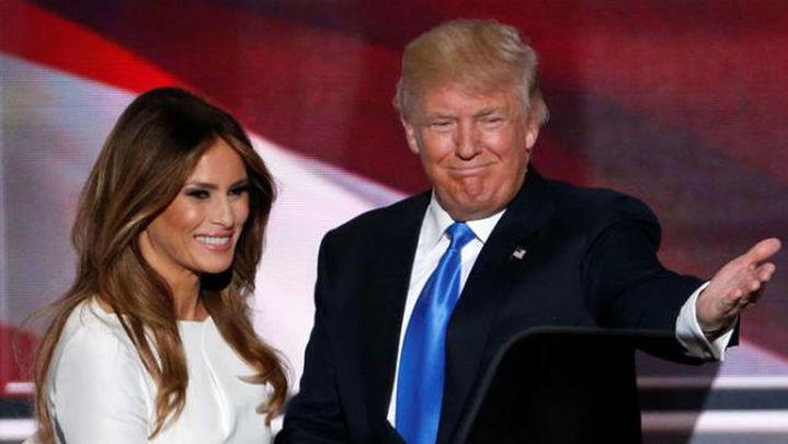 Melania Trump plagia un discurso de Michelle Obama de 2008