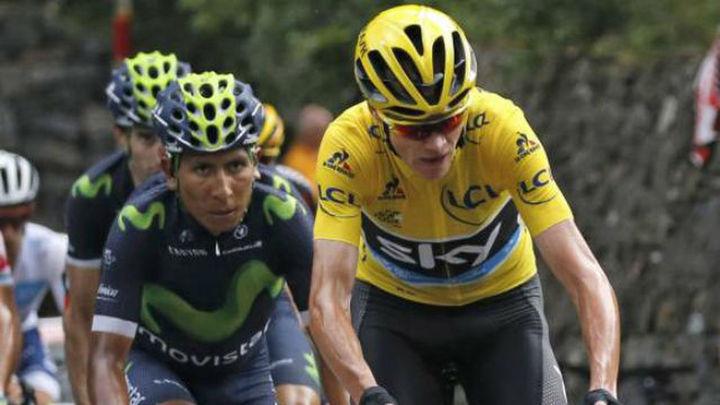 Quintana, al asalto de Froome en los Alpes: camina o revienta