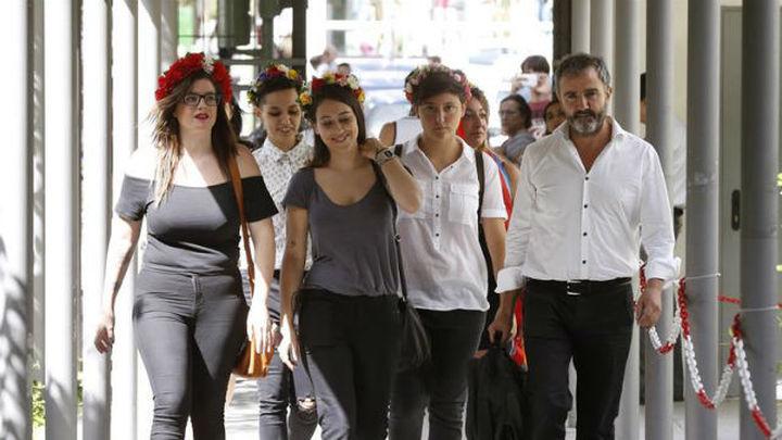 Absueltas las activistas de Femen en su primer juicio en España