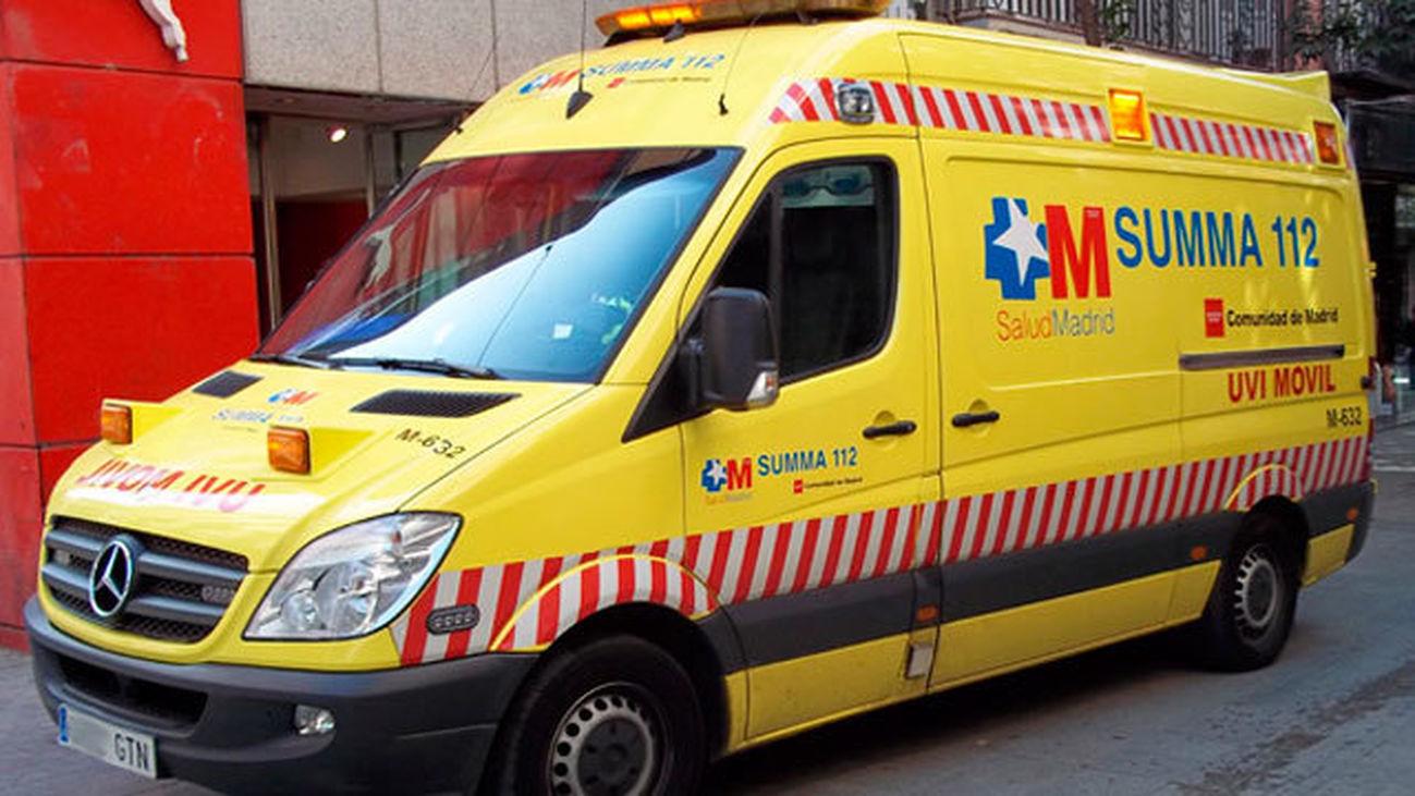 Ambulancia 112 Comunidad de Madrid