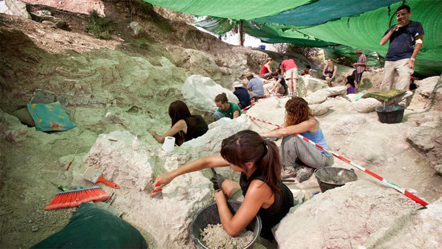 Excavaciones en el Cerro de los Batallones en Torrrejón de Velasco