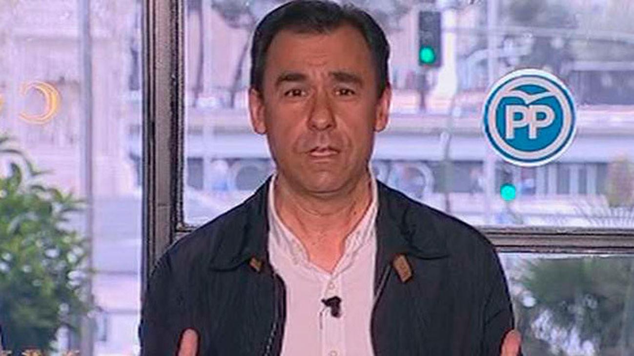 """El PP avisa a C's que si no pasa al """"sí"""" puede activar la alternativa de izquierda"""