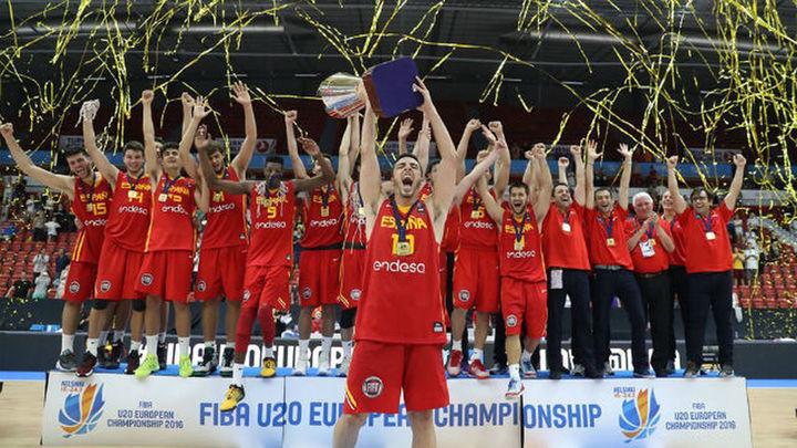68-55. España, campeona de Europa sub'20
