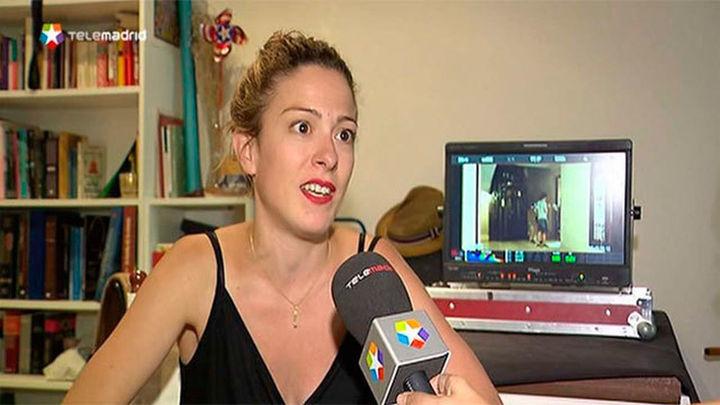 Andrea Jaurrieta rueda en Madrid 'Ana de día'
