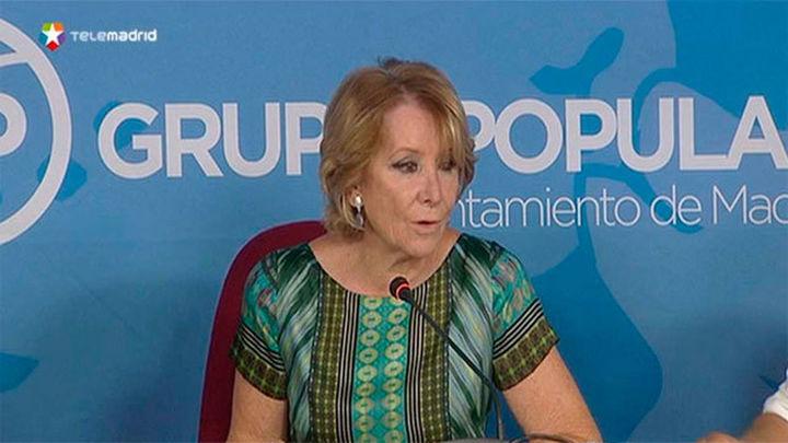 """Aguirre: """"Ciudadanos ha comprado el modelo populista a Carmena"""""""