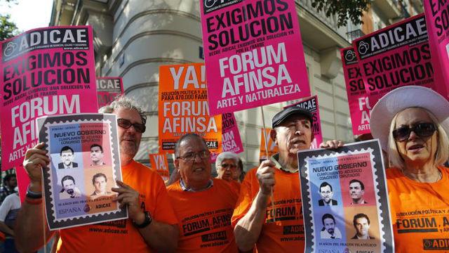 La Audiencia Nacional condena a 11 exdirectivos de Afinsa con penas de hasta 12 años de prisión