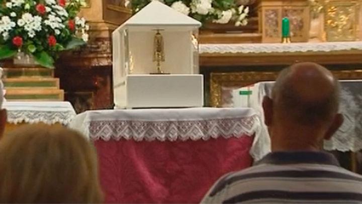 La iglesia de la Encarnación abre sus puertas por la festividad de San Pantaleón