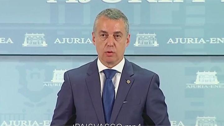 Urkullu pide consulta legal para reconocer como naciones Cataluña y Euskadi