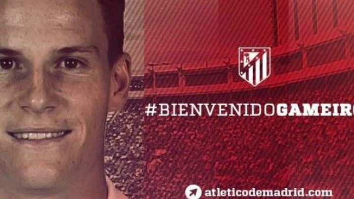 El Atlético ficha a Gameiro