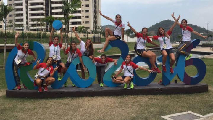 La delegación española ya se encuentra en Río