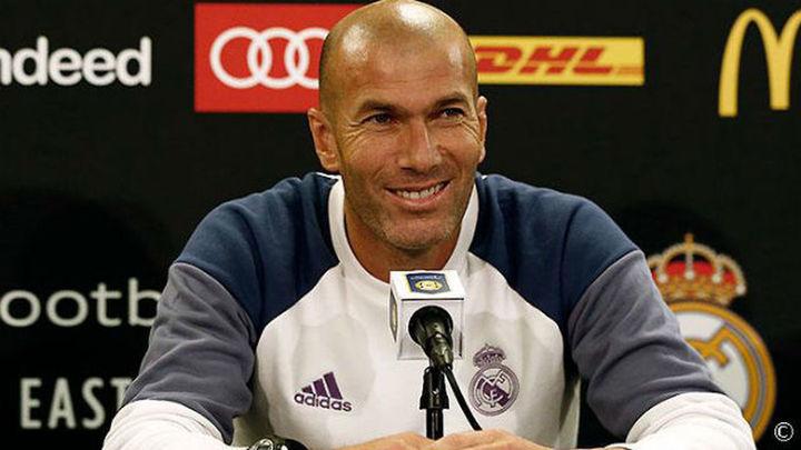 """Zidane: """"A lo mejor Jesé se va un año al PSG y luego vuelve..."""""""