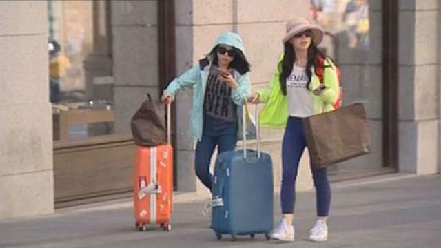 España recibió 42,4 millones de turistas internacionales hasta julio, un 11,1% más