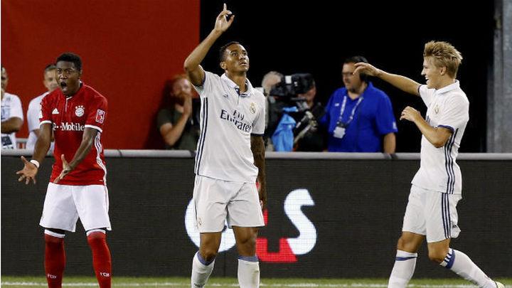 1-0. Danilo da la victoria ante el Bayern en el cierre de la gira
