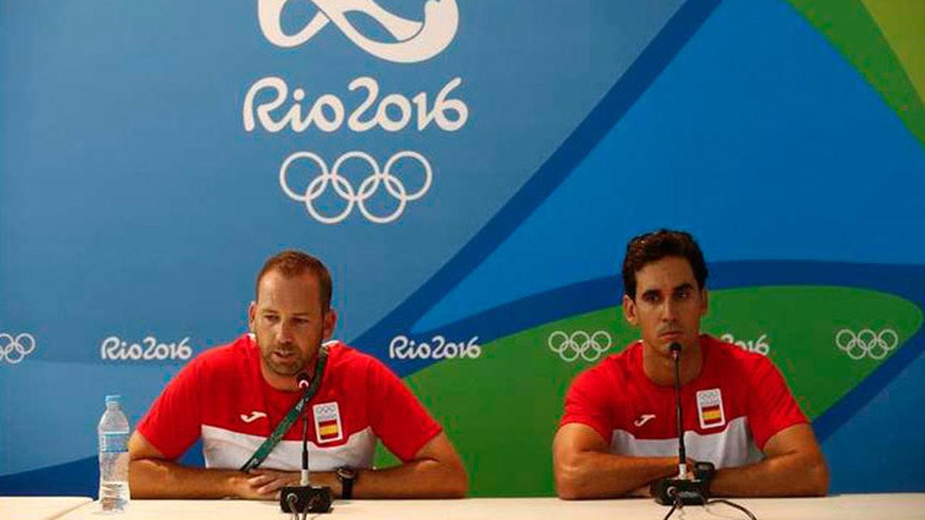 - Los jugadores de Golf españoles Sergio Garcia  y Rafa Cabrera
