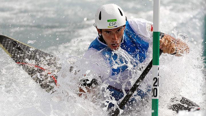 Ander Elosegi se queda sin medalla
