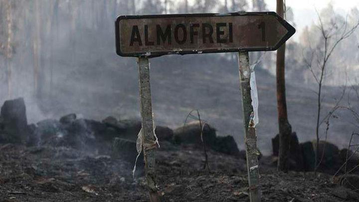El fuego azota el sur de Galicia con incendios en Cotobade, Mondariz y Caldas