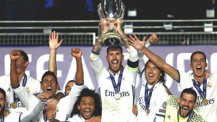 El Madrid, fiel a su estilo en las finales, se lleva la tercera Supercopa de Europa