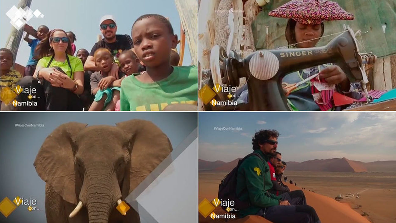 'Viaje con...', destino Namibia