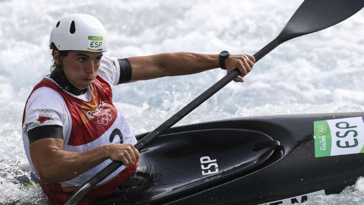 Maialen Chourraut, medalla de oro en K1 de piragüismo slalom