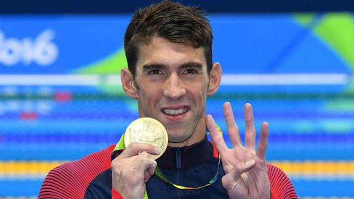 Phelps agiganta su leyenda tras su 26ª medalla, de ellas 22 de oro