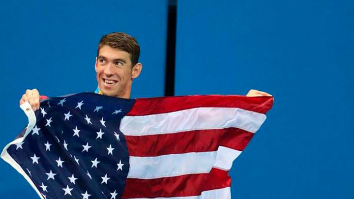 Phelps se despide de Río con otro oro