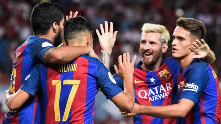 0-2. Luis Suárez y Munir le ponen la Supercopa de cara al Barcelona