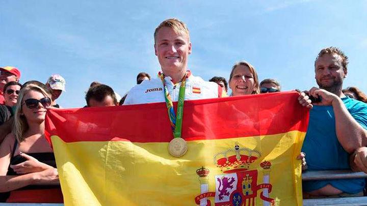 Marcus Cooper gana el oro en el K1 1.000 metros
