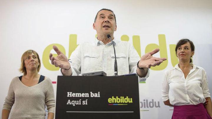 EH Bildu registra sus listas que encabeza por Gipuzkoa Arnaldo Otegi