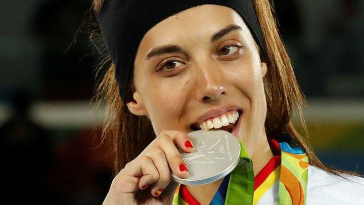 La subcampeona olímpica Eva Calvo, medalla de la Ciudad de Leganés