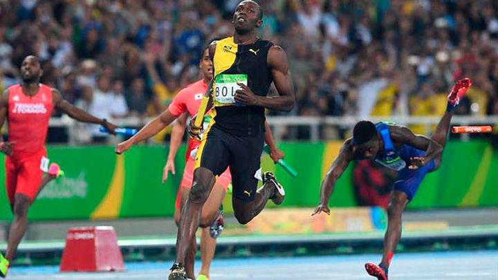 Bolt consuma el triple-triple en el relevo y gana su noveno oro