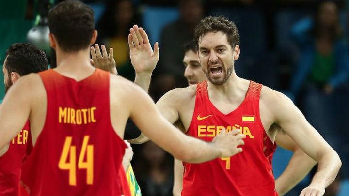 88-89. España, bronce en baloncesto tras imponerse a Australia