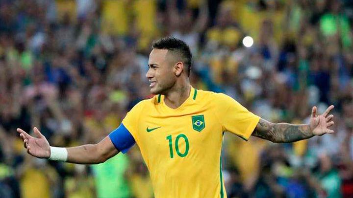 1-1. Brasil y Neymar rompen el maleficio olímpico en los penaltis